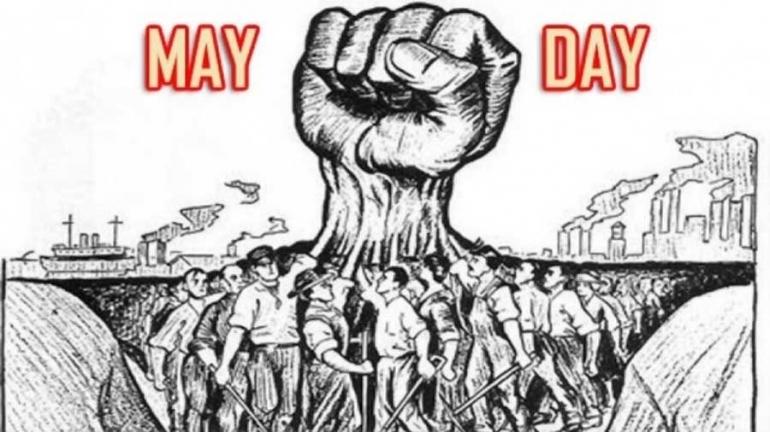 Ilustrasi May Day (net)