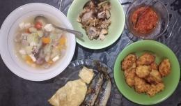Hidangan sahur sederhana dari dapur saya. Edisi lengkap.