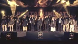 Suasana Deklarasi Partai Ummat, 29 April 2021 (Screenshoot Kanal Youtube Amien Rais Official)