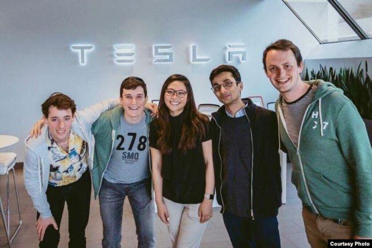 Moorisa Tjokro, salah satu orang Indonesia yang bekerja untuk perusahaan Tesla di California, AS.(VOA Indonesia (dok: Moorisa))
