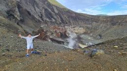 Asap Sulfur Gunung Berapi (Dokumen Pribadi)