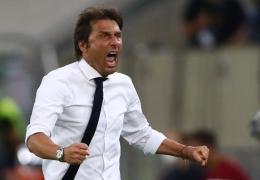 Antonio Conte sukses membawa Inter meraih gelar juara Liga Italia 2020-21 (AFP via kompas.com)
