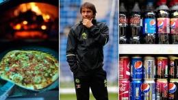 Antonio Conte, mantan pelatih Chelsea yang kini melatih Inter Milan melarang tim besutannya untuk mengonsumsi Pizza dan minuman bersoda (foto: The Sun).