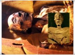 Mumi Ramses II, Merneftah, dan sejumlah Firaun lain kini menjadi bagian dari koleksi National Museum of Egyptian Civilization-Kairo (dok. History.com, cojs.org/ed.WS)
