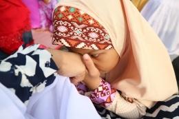 Belajar memuliakan ibu. | Dokumentasi Pribadi.
