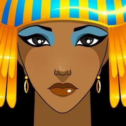 Perempuan Mesir. Sumber gambar : Pixabay.