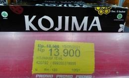 Alhamdulillah, pas restok Kojima, eh pas diskon pula. Dokpri