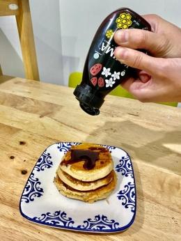 Pancake Madu KOJIMA. Sumber: dokumentasi pribadi