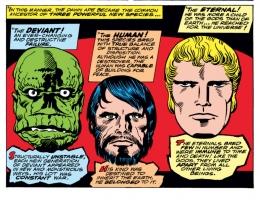 Pengenalan makhluk Celestials dalam komik Marvel.   nerdist