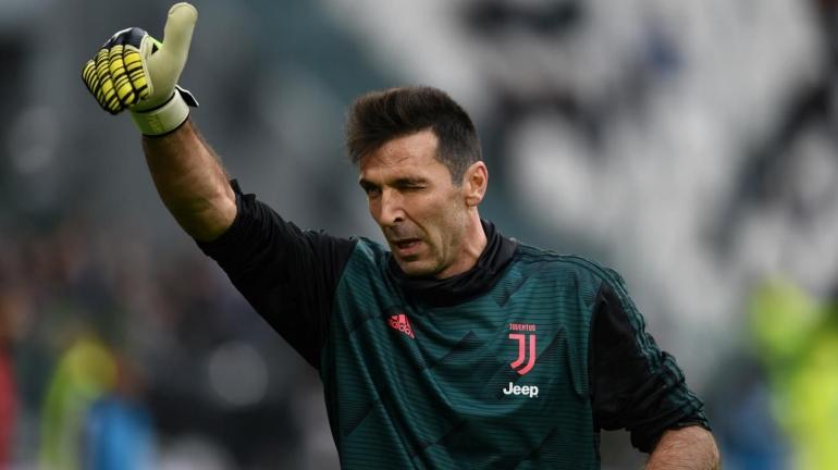 Gianluigi Buffon, penjaga gawang Juventus. (via beinsports.com)