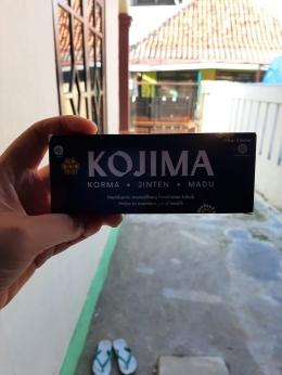 Kojima menemani aktivitas di rumah (sumber: dok. pribadi)