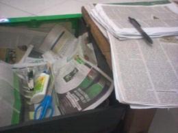Koleksi kliping koran. (Foto : Elvidayanty)