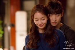 Manisnya Lee Je Hoon dan Shin Min Ah di drakor Tomorow With You (tvN)