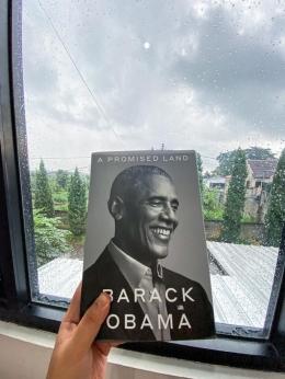 Buku A Promised Land oleh Barack Obama. Sumber: dokumentasi pribadi