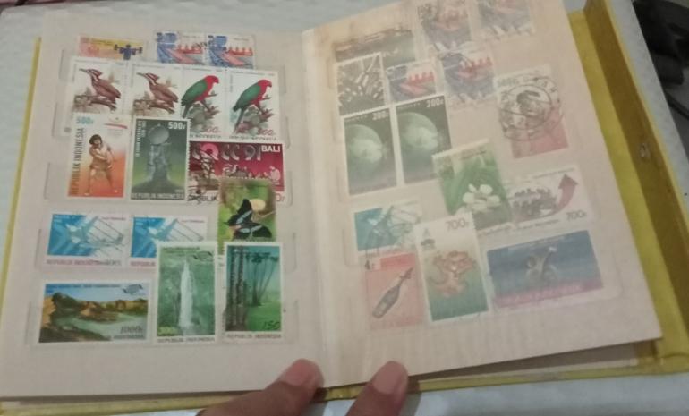 Buku perangko (dok.pri)