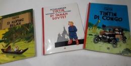 Ingat Tintin jadi ingat koleksi buku ayahku yang raib (dokpri)