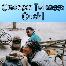 Omongan Tetangga, ilustrasi by Ulihape
