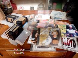 Koleksi kaset CD (Dokumentasi Mawan Sidarta)