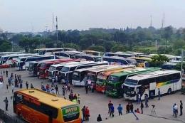 Ilustrasi bus Antar Kota Antar Provinsi (AKAP), sumber: Bisnis.com / youtube