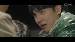 Tangisan 'palsu' Jung Bareum saat menjadi psikopat (tvN)