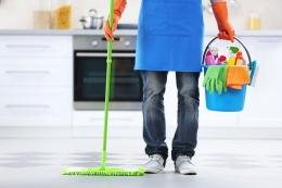 Ilustrasi bersihin rumah saat menyambut lebaran/sumber: shutterstock.com