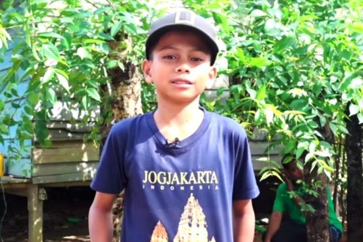 Nauval Raziq penemu listrik kedondong - dok keluarga via kompas.com