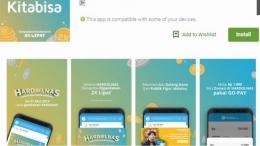 Salah satu aplikasi bayar zakat online berbasis android: kliknklik.com