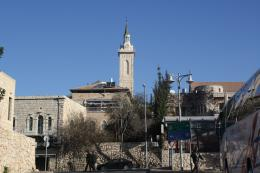 Gereja St Yohanes Pembaptis di Ein Kerem (dok pribadi)