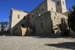 Gereja Yohanes Pembaptis di Ein Kerem (dok pribadi)