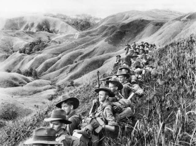 Tentara Australia di Papua dalam PD II. Sumber: nationalinterest.org