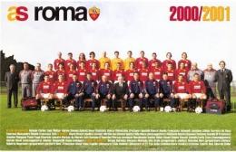 Skuad Scudetto As Roma Musim 2000/2001 (Pinterest)