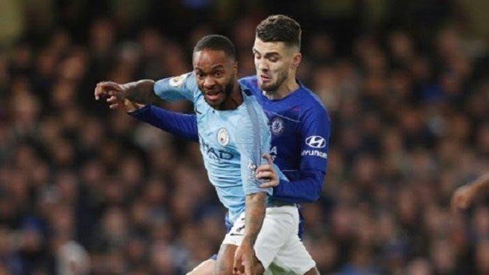 ilustrasi Chelsea vs Man City (Tribunnews)