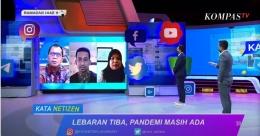 Tangkapan layar tayangan Kata Netizen, Kamis (06/05/2021) di Kompas TV.