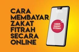 Cara Membayar Zakat Fitras Secara Online (Kompas.com)