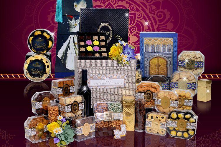 Parsel lebaran tidak sekedar makanan kering, namun juga bisa diisi hal kekinian (Hotel Mulia Senayan via kompas.com)
