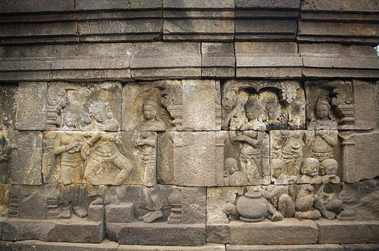 Foto 1: Foto Relief Borobudur | Dok. Kompasianer Jogja (K-JOG)