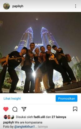 Bersama teman - teman Kompasiana di Malaysia, besoknya nonton MOto GP Sumber foto: Angtekhkhun