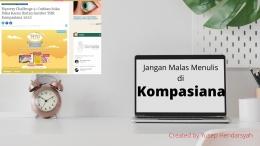Jangan Malas di Kompasiana ya friends!, created by yusep hendarsyah