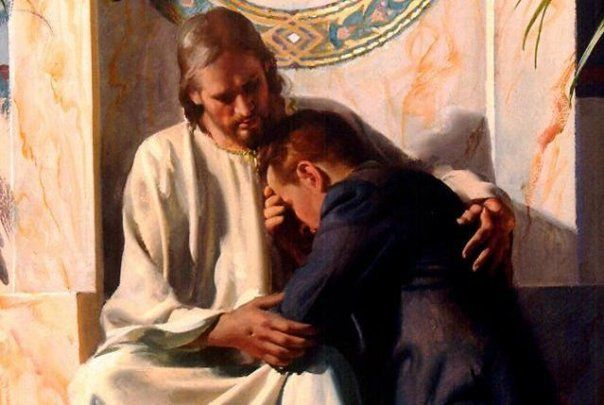 Ilustrasi Yesus berbelas kasih. Foto: dawn.orlandobible.org.