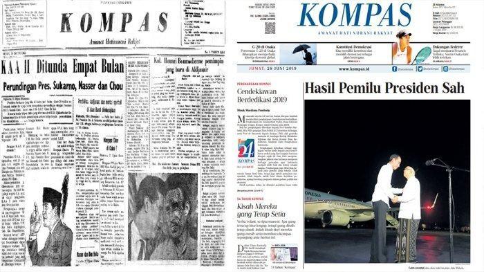 Contoh Arsip Harian Kompas / dok. Kompas