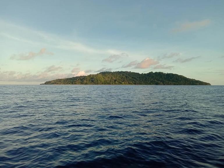Pulau Hatta di Banda Naira Maluku Tenggah