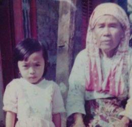Saya dan nenek/dokpri