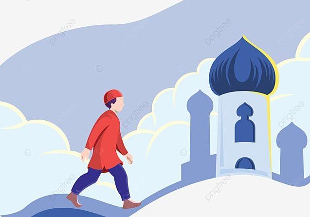 Sebuah fragmen di masjid.   Gambar diambil dari ms.pngtree.com