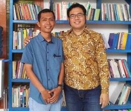 Foto bersama Dr. Suwaib Amiruddin, M.Si Pembina SAF sekaligus Dosen Untirta (Dokpri)