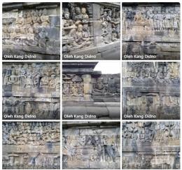 Kumpulan foto relief Candi Borobudur (Dok. Didno)