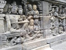 Relief di Candi Borobudur (Dok. Didno)