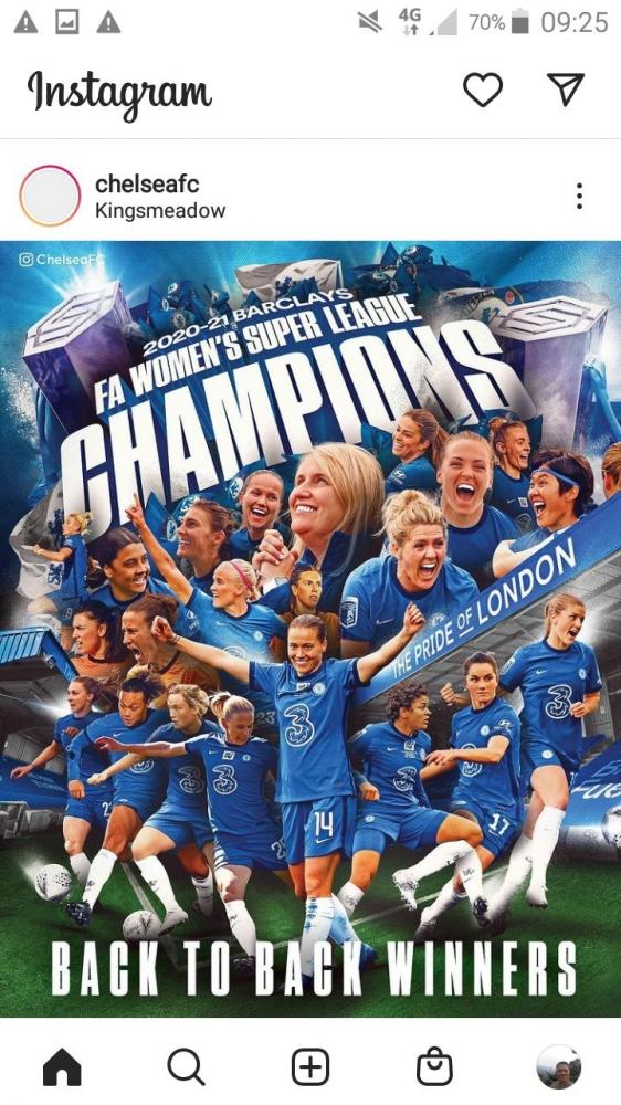 Chelsea FC Women juara WSL (Tangkap Layar.DokPri)