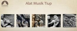 Alat musik tiup pada relief | sumber: Bumi Borobudur