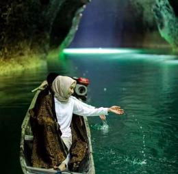 PUTA DINO   Foto koleksi IG @putadinokayangan   Lokasi : Goa Boki Maruru, Halmahera Tengah