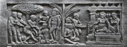 Relief musik Candi Borobudur (Sumber: Kemdikbud)
